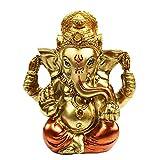 Hindu God Lord Ganesha Staue - India God Ganesh Idol Statue for Car Dashboard Decor- India Home Mandir Temple Pooja Item Puja Gifts Diwali Gifts Meditation Yoga Room Altar Decoration