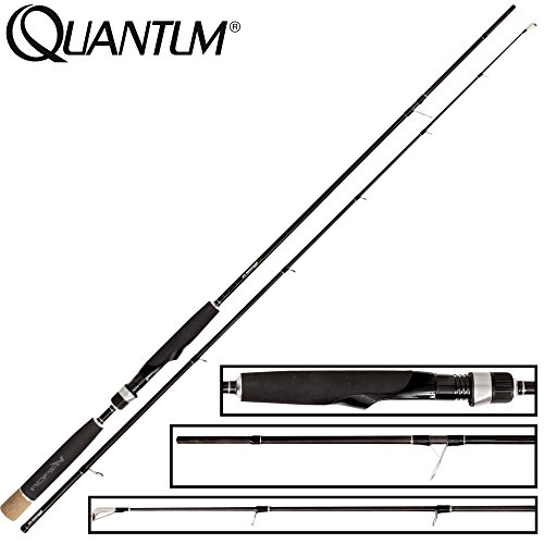 Quantum Vapor Aggressor Medium Lure 215cm 7-35g - Spinnrute Zum Spinnfischen auf Zander & Barsch, Zanderrute, Barschrute