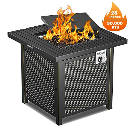 BBQ Grill Propane Gas Fire Pit Table Outdoor Garden Cooking Party Camping Stove | Visionary Connections