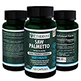 Saw Palmetto | Supports Prostate Function and Urinary Health | Extra Strength Formula | 1000 mg per serving | Ethernya | Made in USA