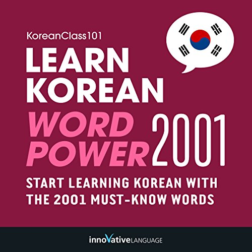 Learn Korean - Word Power 2001 Titelbild