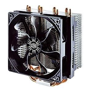 Cooler Master Hyper T4 CPU Air Cooler '4 Heatpipes, 1x 120mm PWM Fan, 4-Pin Connector' RR-T4-18PK-R1