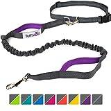 Tuff Mutt - Hands Free Dog Leash for Running, Walking, Hiking, Durable...