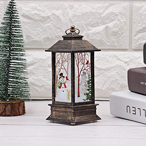 YQLM Halloween Kürbis Licht simulierte Flammenlicht Öllampe Desktop-Dekoration Lampe für Bar Einkaufszentrum