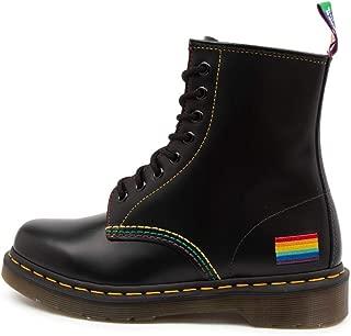 Dr. Martens 1460 Pride Boot Mens Blk Mens Lace Up Boots Mens Shoes
