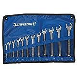 Silverline 633799 - Llaves combinadas, 12 pzas (6-22 mm)