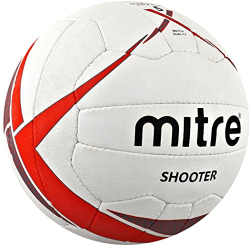 CreativeMinds UK Mitre Shooter netball–Game Team Club Match Play training * * * Nuovo, Multi-coloured, 4
