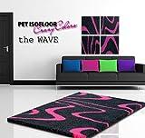 WuffWelt.de Pet Isofloor SX 150 x 100 cm Wave pink
