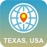 Texas, USA Map Offline
