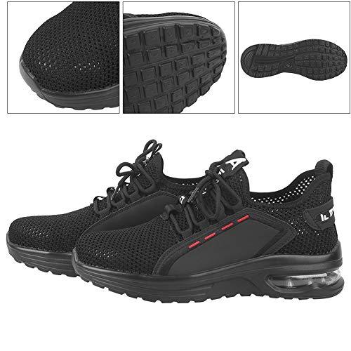 De Moda Protector Zapatos, Acero Dedo del pie Gorra Pie Sentimiento Seguridad Zapato Trekker Zapato Trabajo Tela y Sintético Caucho