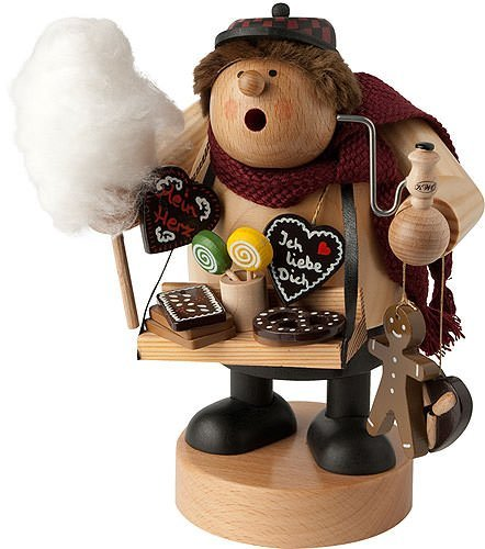 KWO Gingerbread Vendor German Christmas Incense Smoker Handcrafted in Germany