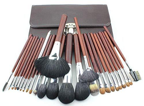 Maquillage Brush Set,Femmes 26 morceaux de fibre de maquillage de cheveux pinceau maquilleur ensemble complet d'outils de maquillage
