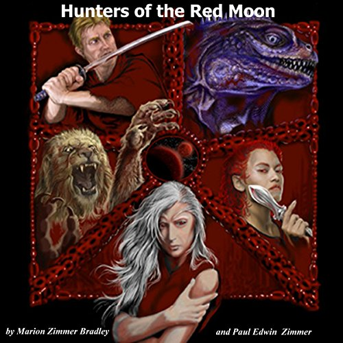 Couverture de Hunters of the Red Moon