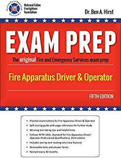 Exam Prep: Fire Apparatus Driver & Operator by Performance Training Systems Dr. Ben A. Hirst (2015-12-24)