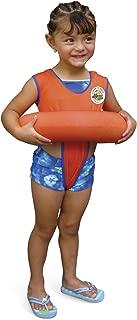 Poolmaster Learn-to-Swim Swimming Pool Tube Float Trainer, Orange