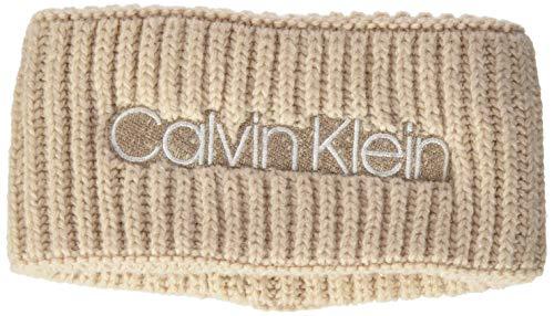 Calvin Klein Damen Headband Hut, Bleached Sand, Einheitsgröße