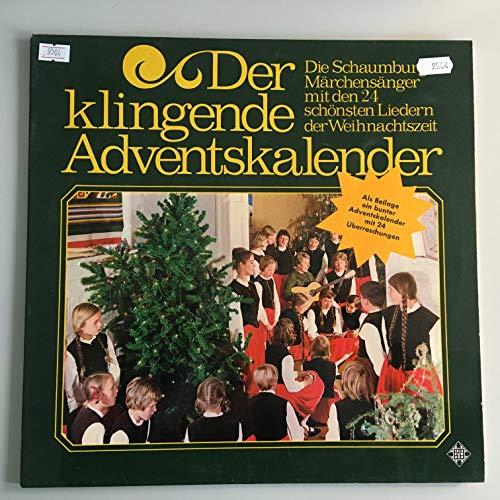 SCHAUMBURGER MÄRCHENSÄNGER / Der klingende Adventskalender / Die Schaumburger Märchensänger mit den 24 schönsten Liedern der Weihnachtszeit / !!! OHNE BEILAGE !!! / 1972 / Klapp-Bildhülle / TELEFUNKEN # SLE 14 657-P / Deutsche Pressung / 12