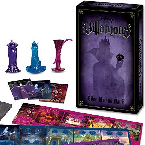 Ravensburger Spiele 26400 - Disney Villainous 26400 - Das spannende Strategiespiel mit verdrehter Spielmoral ab 10 Jahren