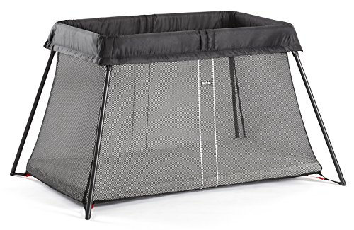 BabyBjörn Travel Crib Light - Black (040280US)