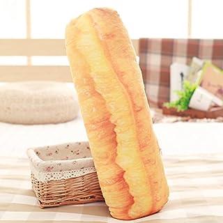 Yancyong Simulación 3D Alimentos Almohada Almohada,Imitación Pan Frito Stick,90 Centímetros