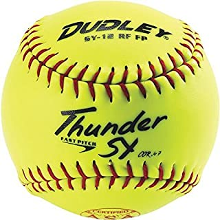 Dudley ASA Thunder SY Fastpitch Softball - 12 Pack