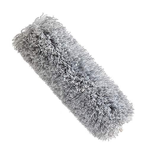 iClosam Cabezal de repuesto para plumero, plumero telescópico con cabezal de microfibra flexible, limpieza de polvo en ventiladores de techo alto, luces, persianas, coches