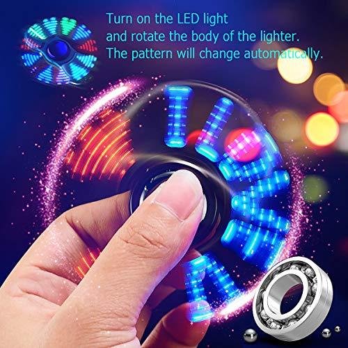 Aegilmc『Ledライトステンレス鋼ジャイロ電気ライター』