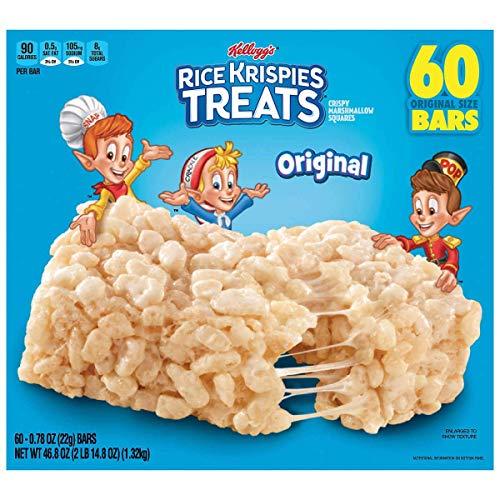 Kellogg's Rice Krispies Treats, 60 bars