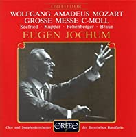 Great Mass In C Minor (Grosse by WOLFGANG AMADEUS MOZART (1994-04-20)