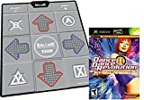 DDR Bundle Tough Groove Texture Non-Slip Dance pad for PS/PS2, Xbox, PC and Nintendo Wii+ Ultra Mix 2 Game for XBOX