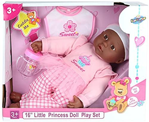 Lollipop Toys' Little Princess African American Doll Play Set, 16'' L by Lollipop