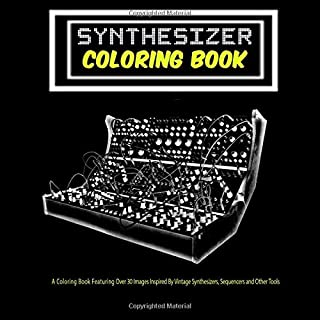 Synthesizer Coloring Book - V1: 8.5
