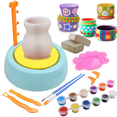 IAMGlobal Pottery Wheel, Pottery Studio, Craft Kit, Artist Studio,...