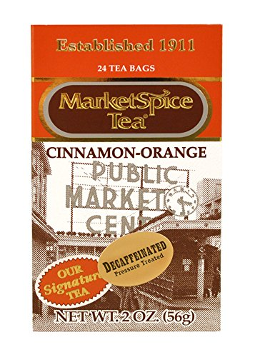 MarketSpice Decaf Teabags box of 24