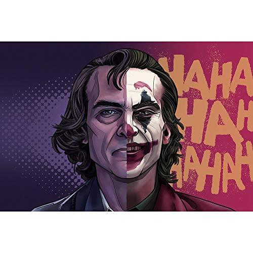 Puzzle 1000 piezas Personajes de películas americanas de Joker y Harley Quinn puzzle 1000 piezas educa Juegos familiares para adultos divertidos para niños Rompecabezas de jug50x75cm(20x30inch)