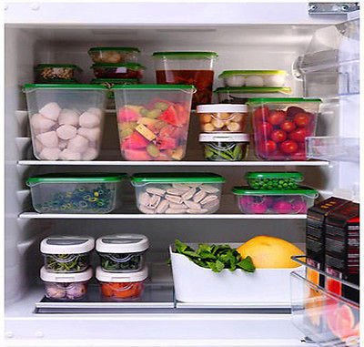 Ikea Pruta voedsel container voedsel opslag set van 17 vriezer en vaatwasser veilig
