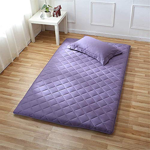 Lqfcjnb Folding Mattress Tatami Cushion Mattress Foldable Futon Soft Student Dormitory Pad Sleeping Floor Mat For Home Camping 6cm Thick Easy Storage Without Occupying Space