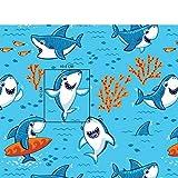 Pingianer 11,99€/m Fisch Wal 100% Baumwolle Baumwollstoff