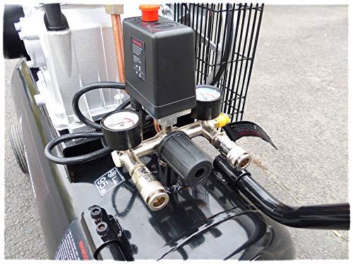 KnappWulf KW3100 – 100L – 250L/min – 10bar - 2