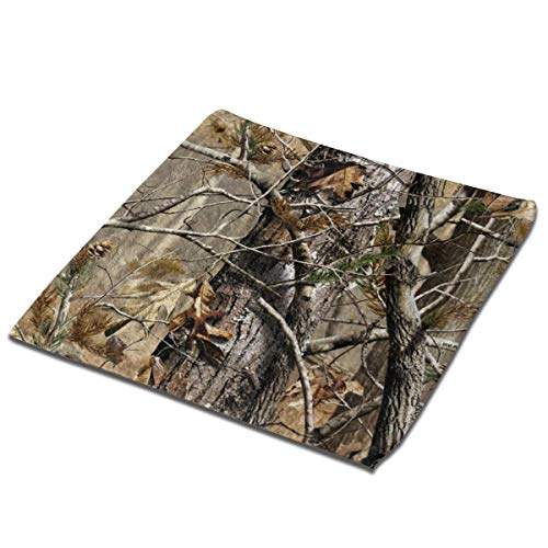 N/D Hand Towels Tree Camo Multi-Purpose Towels Cleaning Dishcloth Square Towels Face Cloths Fingertip Towels for Bathroom Kitchen Travel Beach