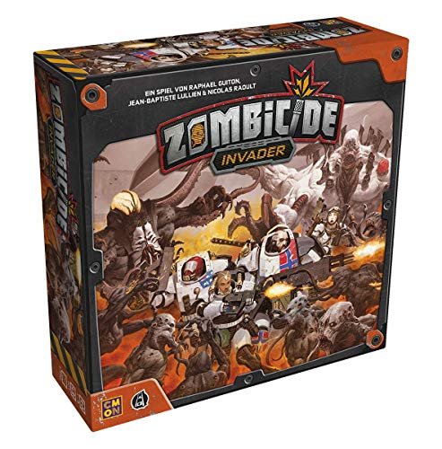 Asmodee Zombicide Invader, Basic Game, Expert Game, Dungeon Crawler, German