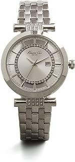 Kenneth Cole New York Women's 10021103 Transparency Digital Display Japanese Quartz Silver Watch
