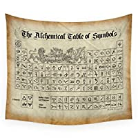 The Alchemical Tapestry Wall Hanging Tapestries Art Throw Towel Sheet Table Cloth Home Decor 150x170cm