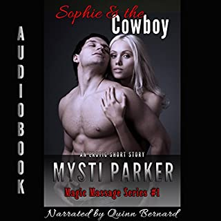 Sophie & the Cowboy audiobook cover art