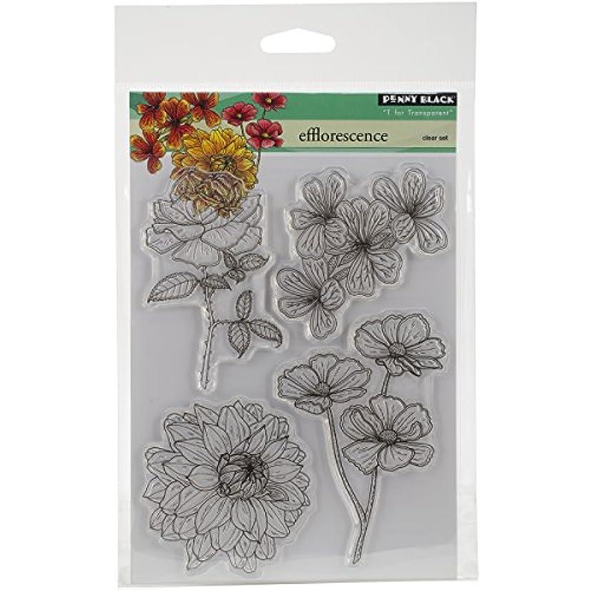 Penny Black 30-282 Efflorescence Transparent Stamp Set