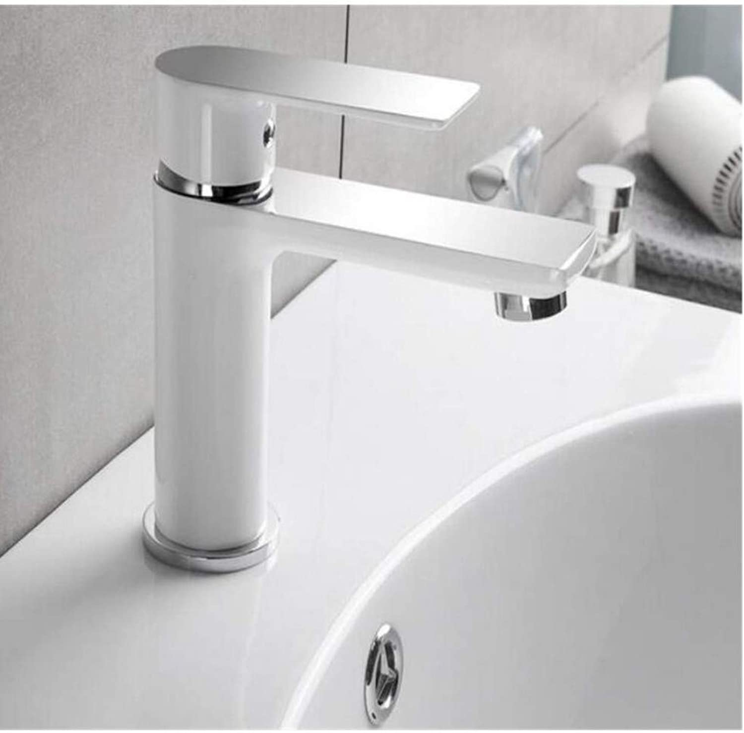 Chrome-Plated Adjustable Temperature-Sensitive Led Faucettap Brass Made Cold Hot Bath Taps Water Basin Faucets