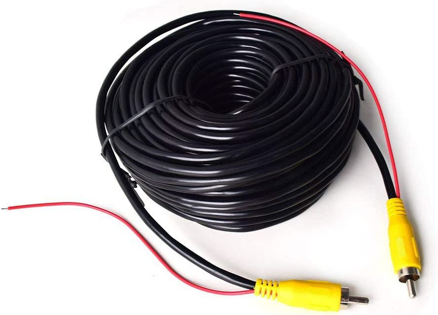 20m Cinch Rca Phono Verlängerung Kable Für Auto Elektronik