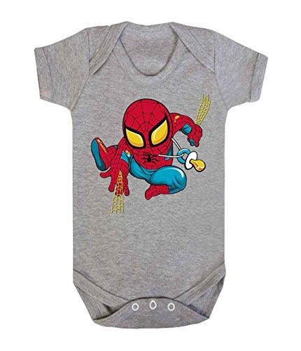 /0003 Red 0-3 months Couleur Mode b/éb/é Spiderman bodies /à manches courtes 100/% coton Petit b/éb/é/ /24/mois/ 62 cm