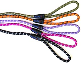 KUDO PETS Slip Lead Dog Leash in Various Sizes and Colors