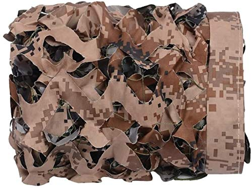 3D Red de Camuflaje Militar Caza tamaño Grande de los Paraguas de...